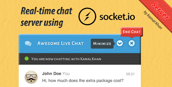 Awesome Live Chat Server