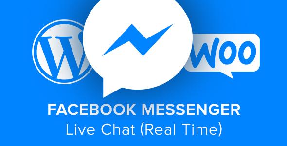 Facebook Messenger Live Chat - Real Time