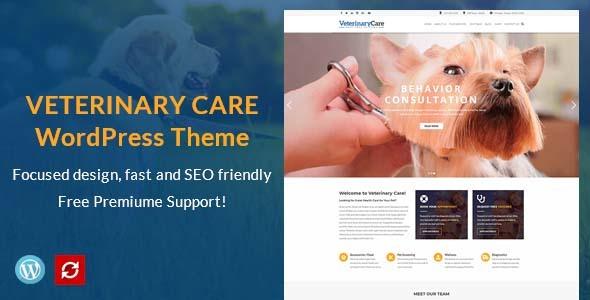 Vet Care - Pet Care & Veterinary WordPress Theme