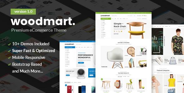 Woodmart - Responsive Wordpress & Shopify Template