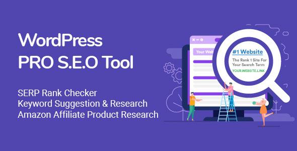 WordPress SEO Plugin - Keyword Research - Backlink Checker - SERP Checker