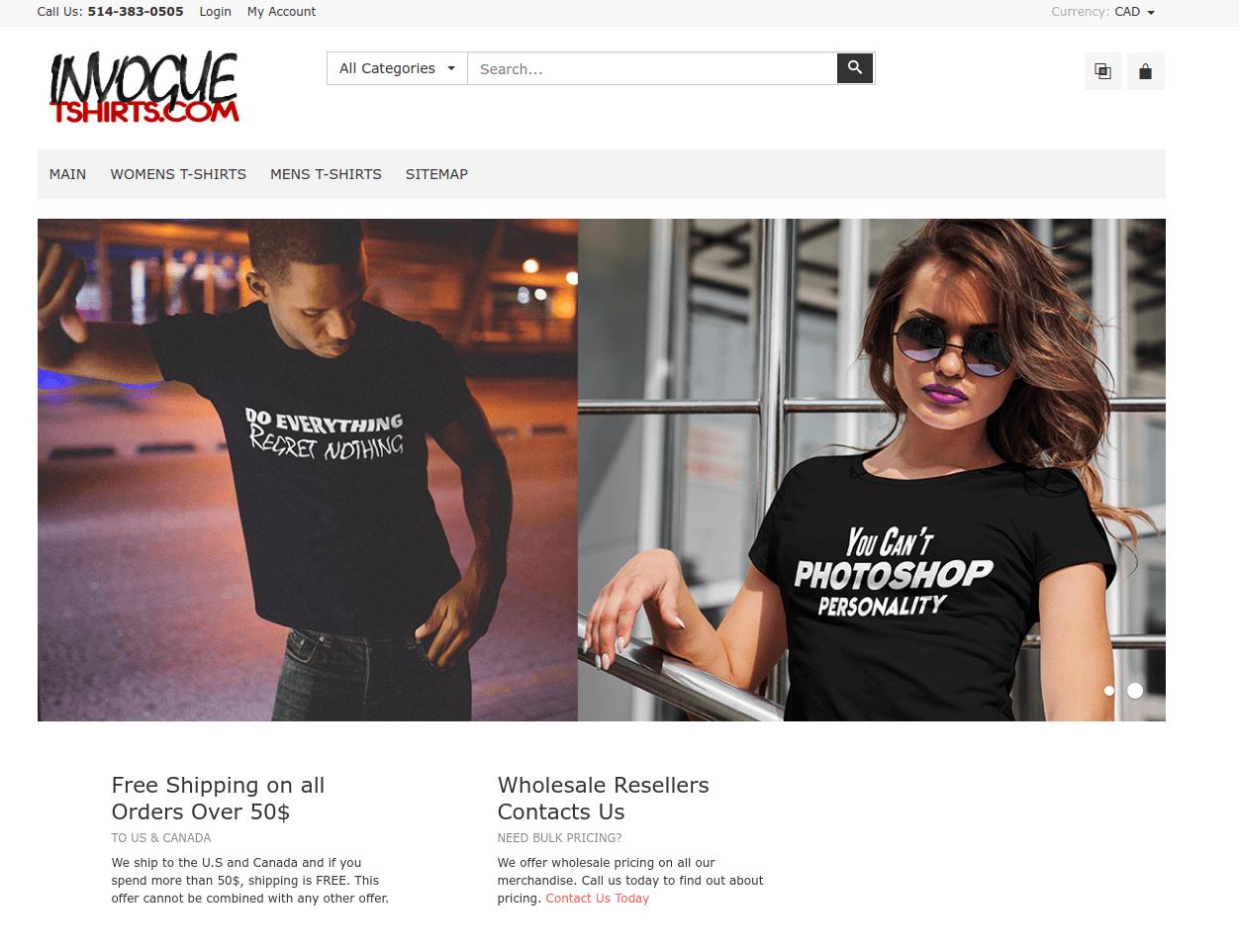 Invoguetshirts.com