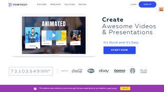 Animations Online | Powtoon
