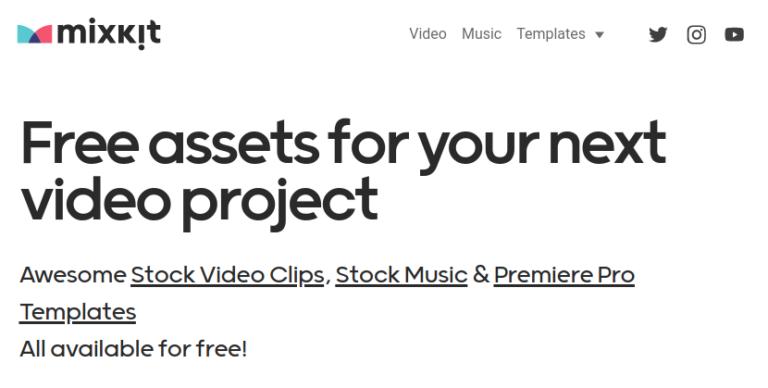 Mixkit - Free Assets