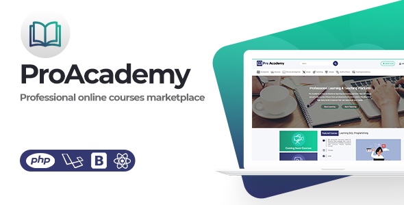 Proacademy- LMS & Online Courses Marketplace