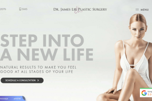 Old Version Jamesleeplasticsurgery.com